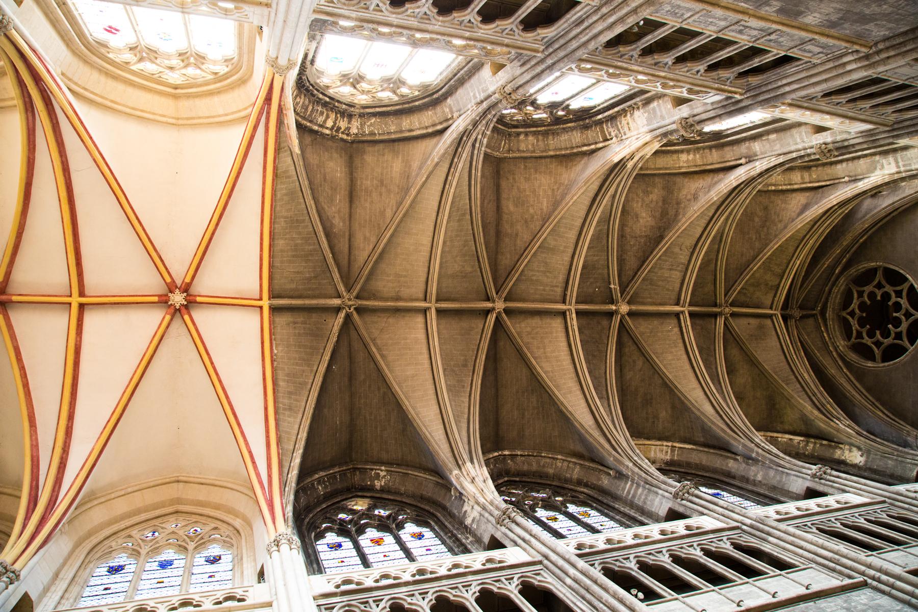 Kreuzgewölbe - St. Vincent