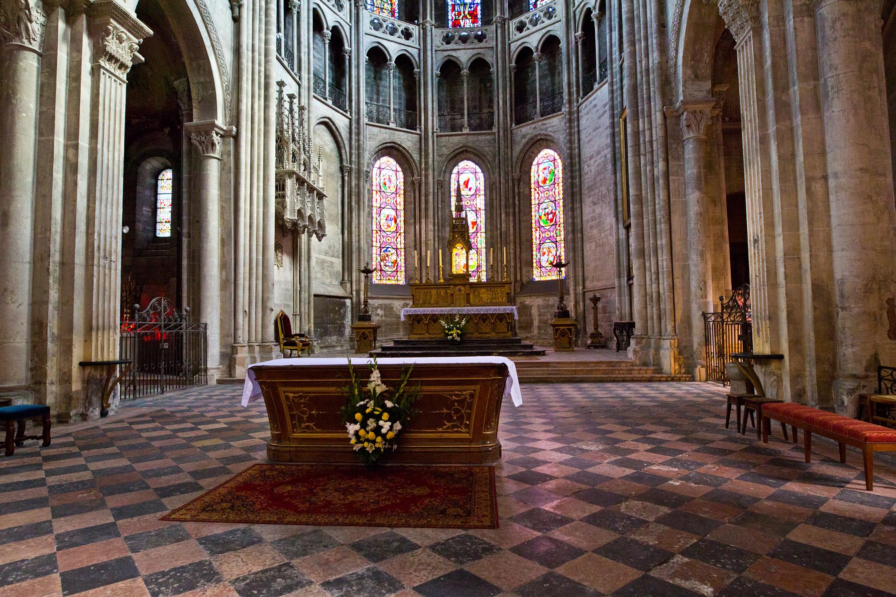Chor, Presbyterium - St. Vincent
