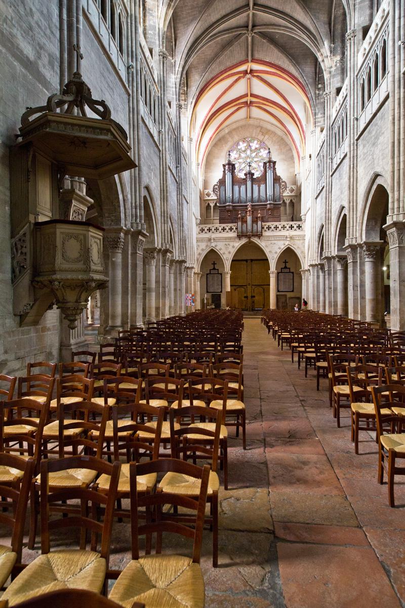 Mittelschiff - St. Vincent