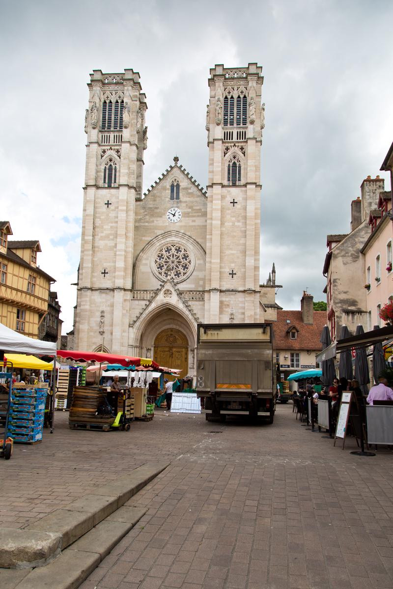 Platz St- Vincent - Chalon-sur-Saône, Burgund