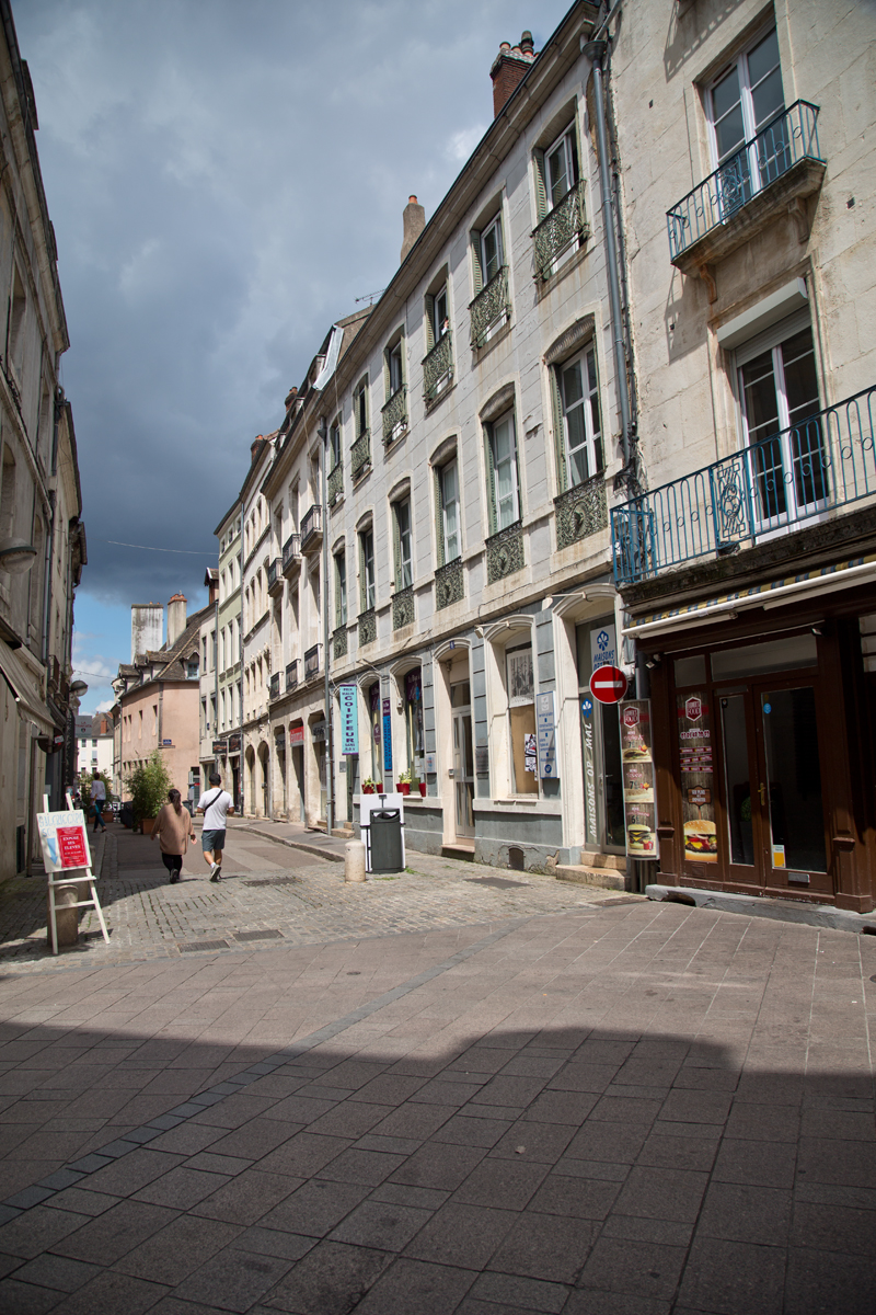 Strasse - Chalon-sur-Saône, Burgund