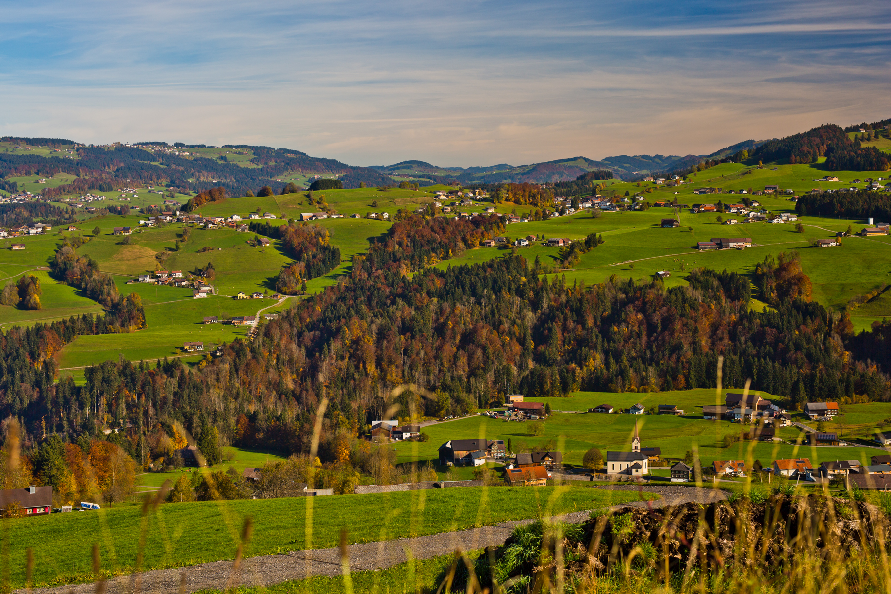 Müselbach, Langenegg