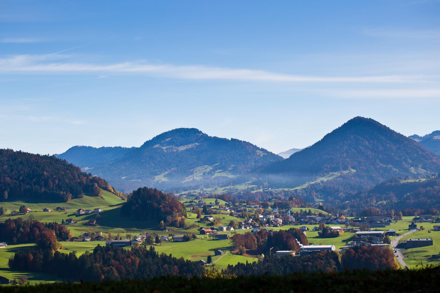 Lingenau Richtung Hittisau