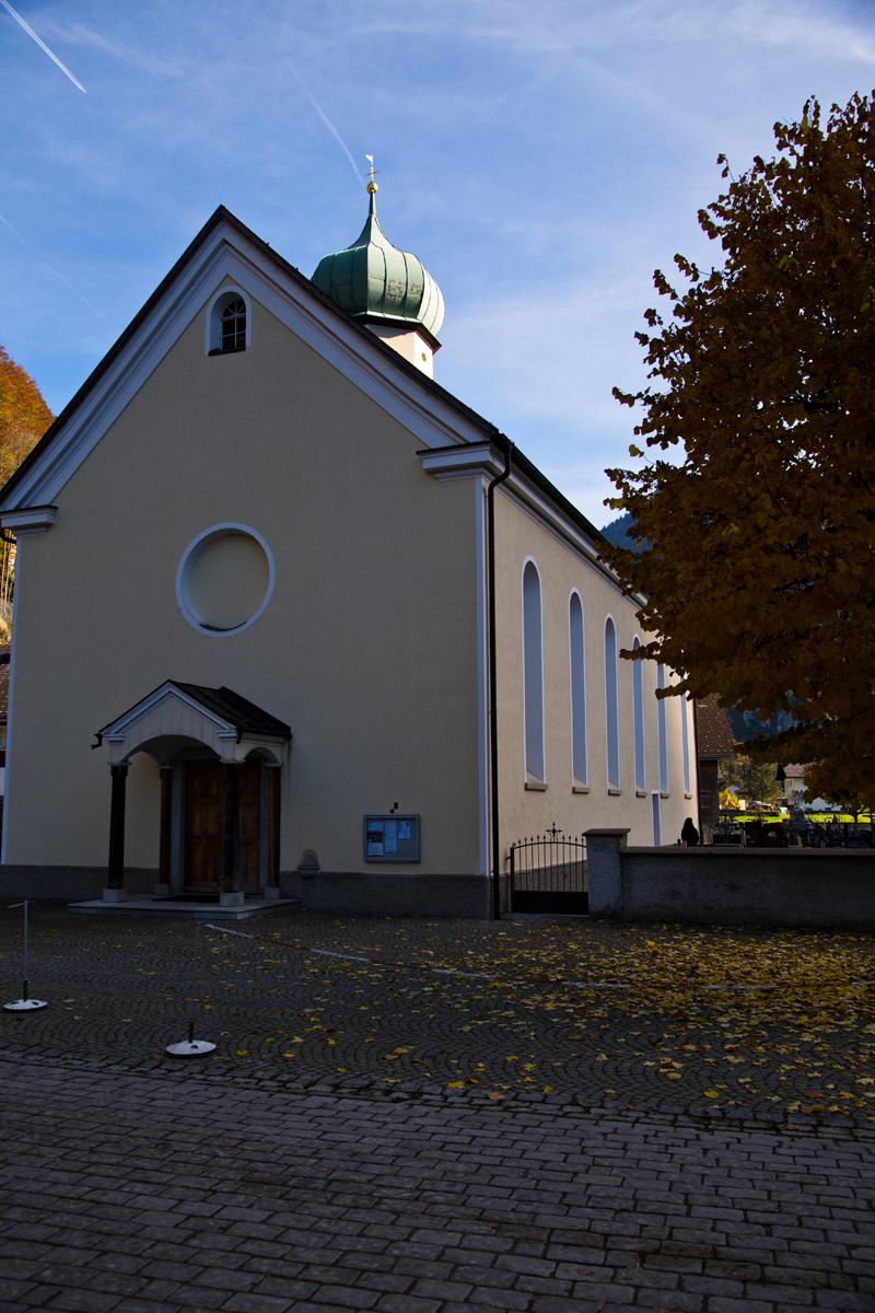 Pfarrkirche hl. Wolfgang - Schnepfau