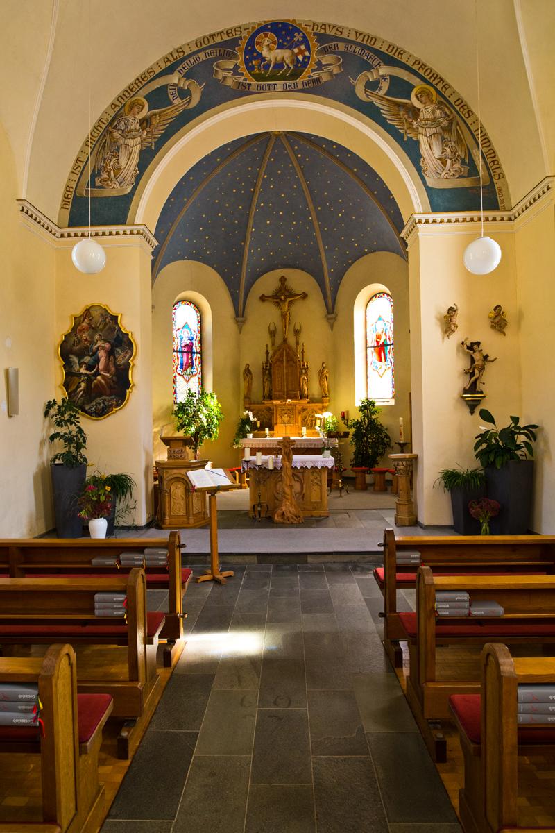 Presbyterium Pfarrkirche hl. Sebastian - Warth