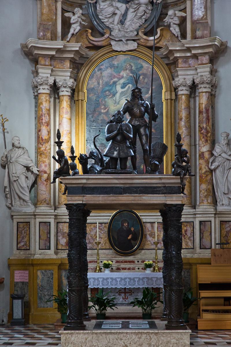 Detail Grabmal Maximilian III.