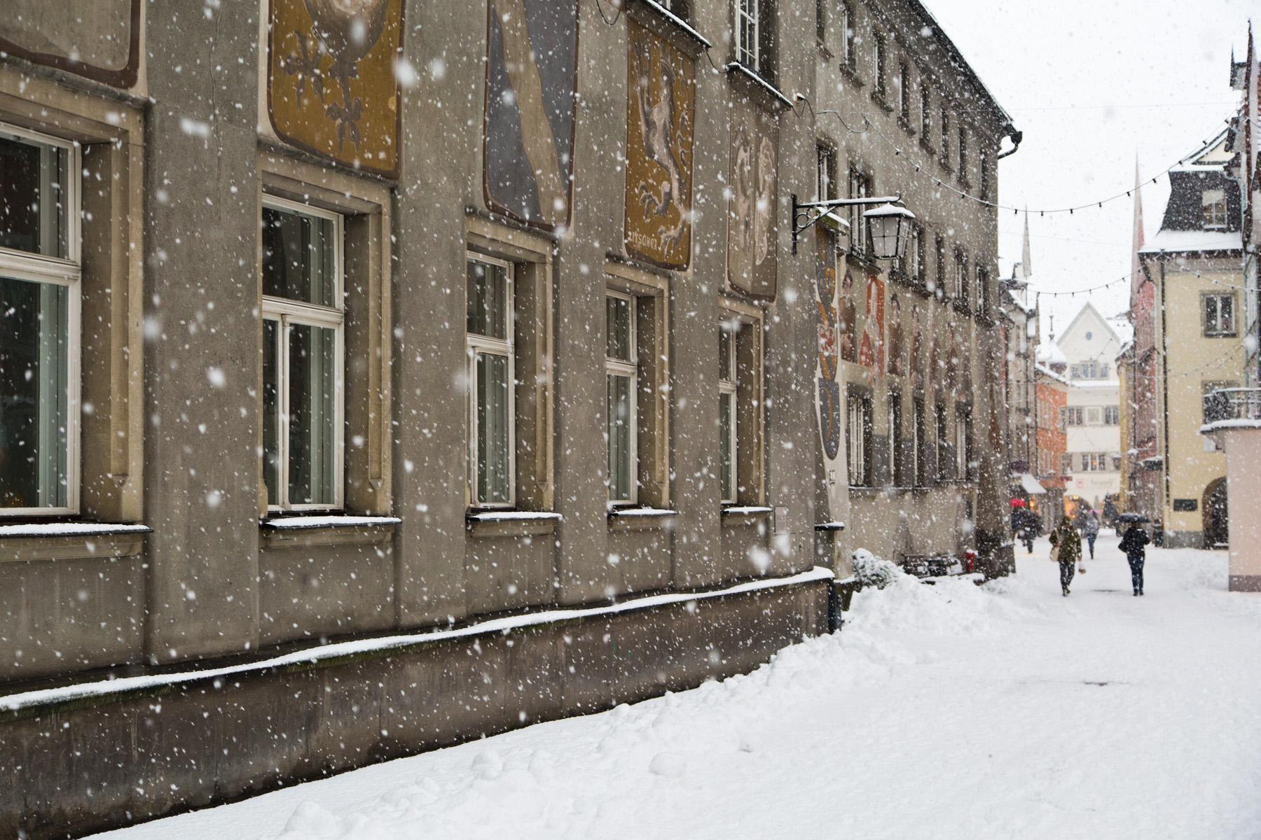 Es schneit