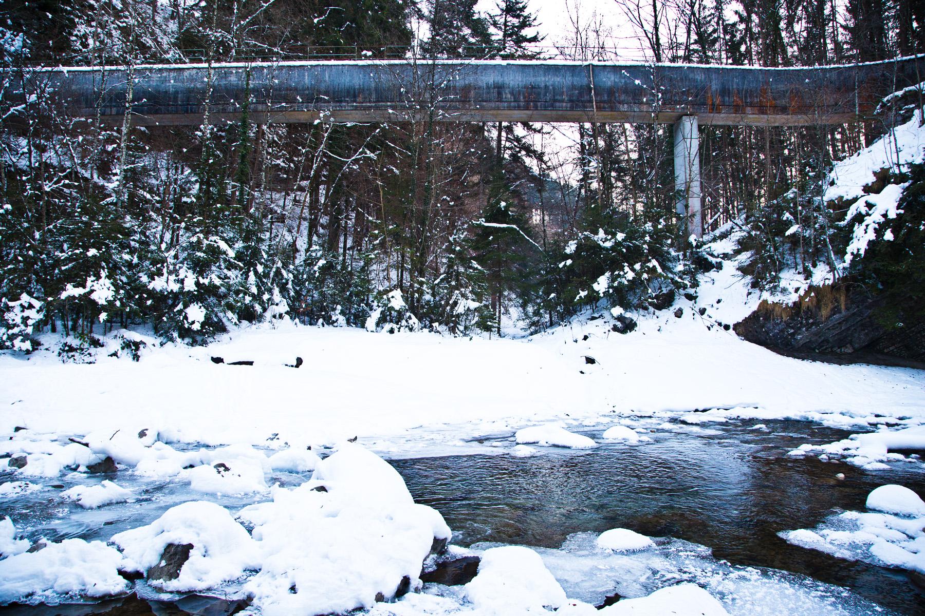 Viadukt des Mühlebach