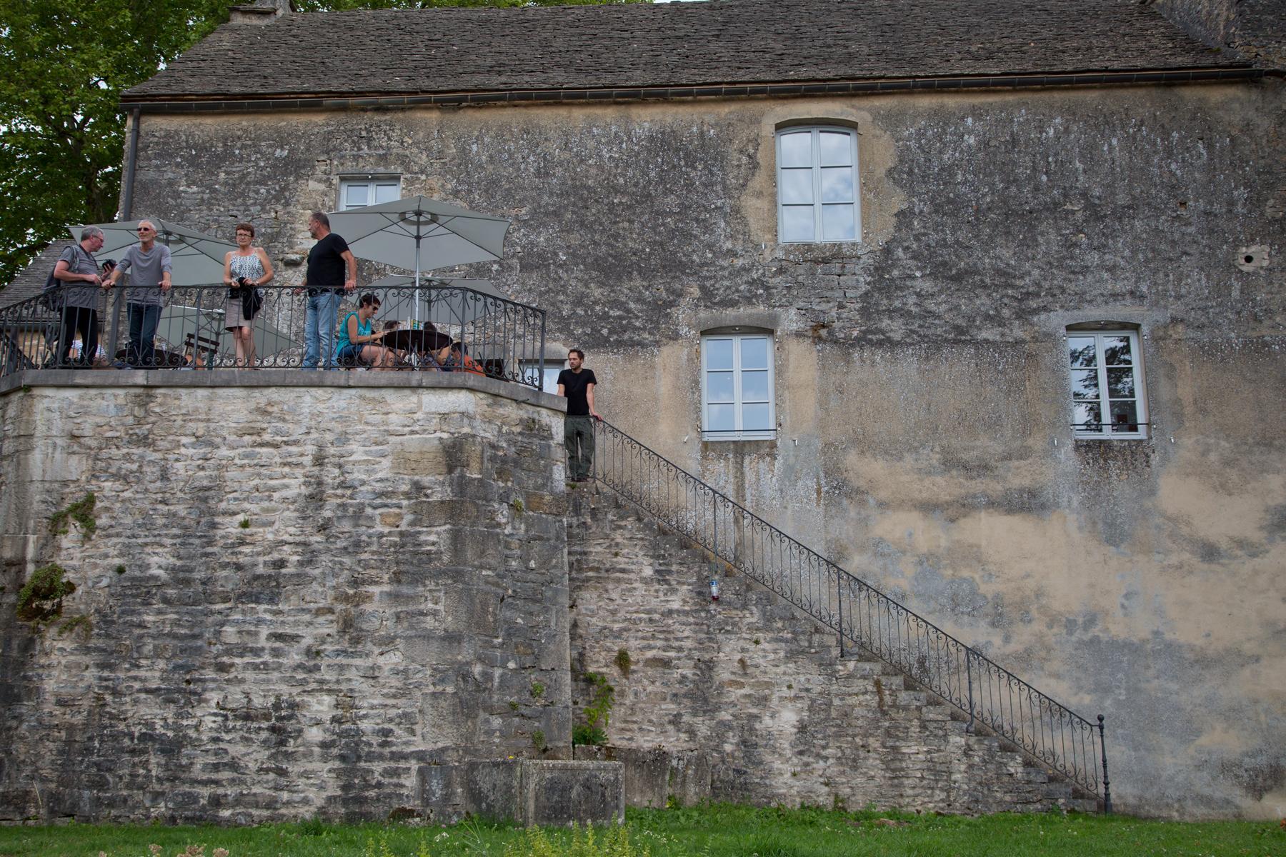 Château Chalon-Frankreich-Département Jura-Bourgogne Franche Comté