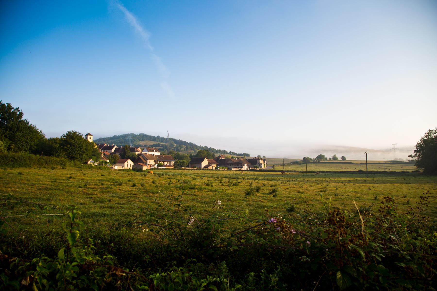 Landschaft Burgund