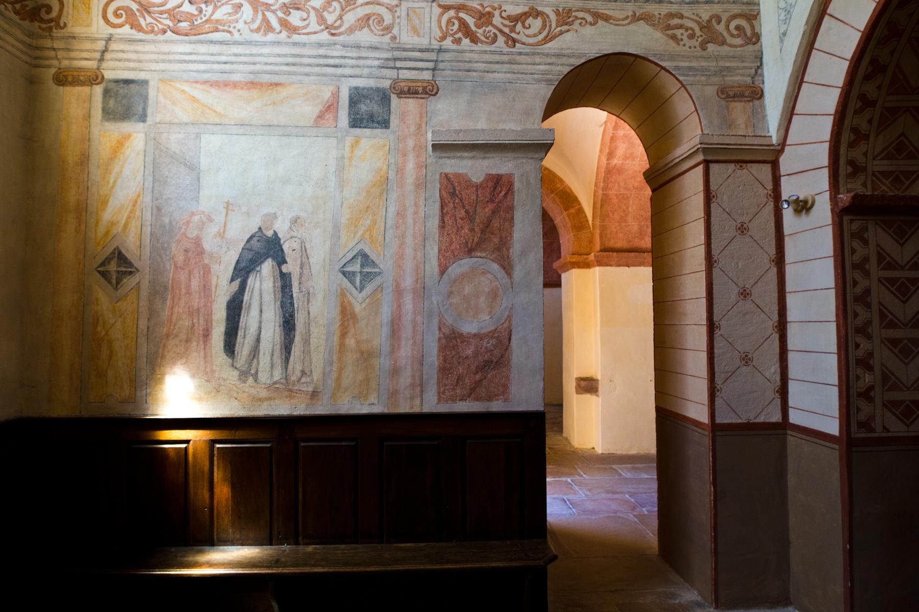 Fresken St-Pierre, Uchizy