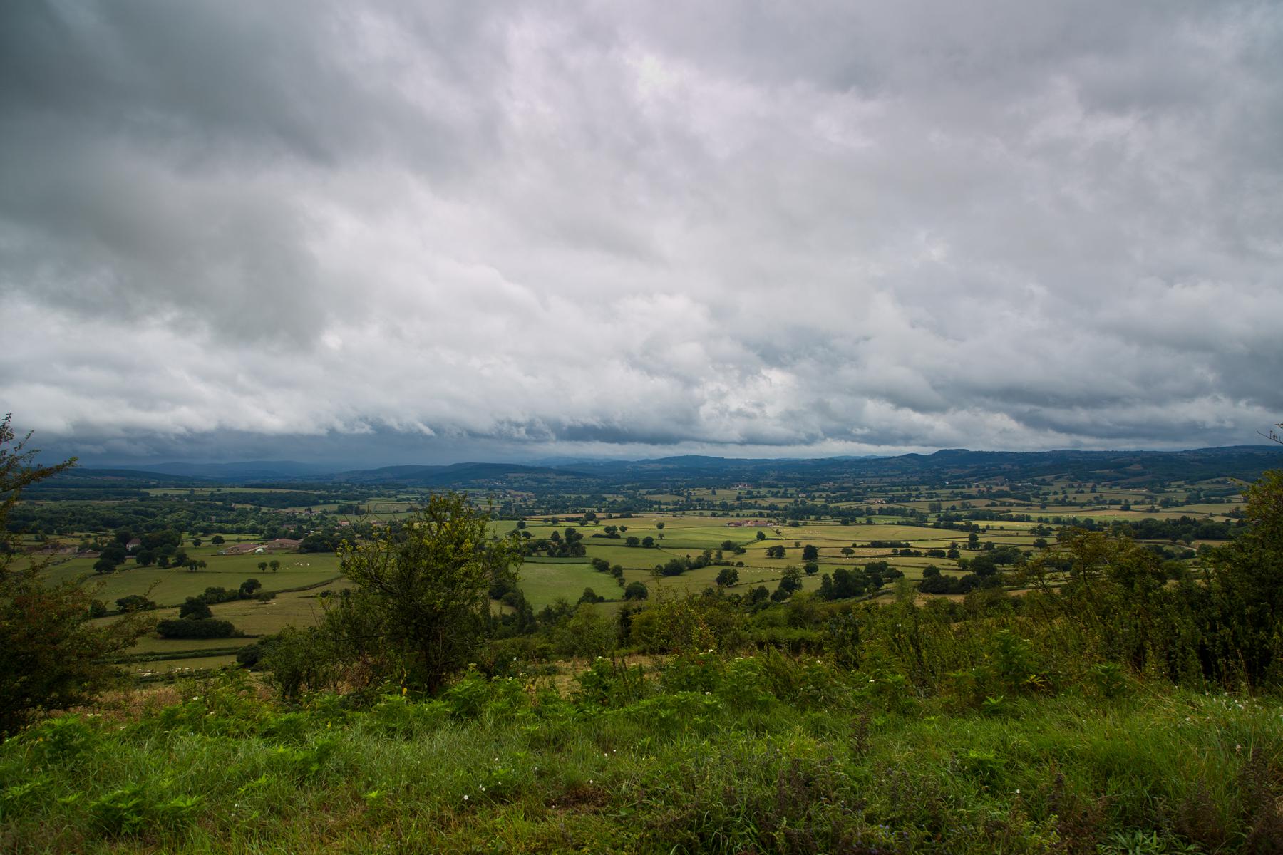 Blick ins Tal der Guye