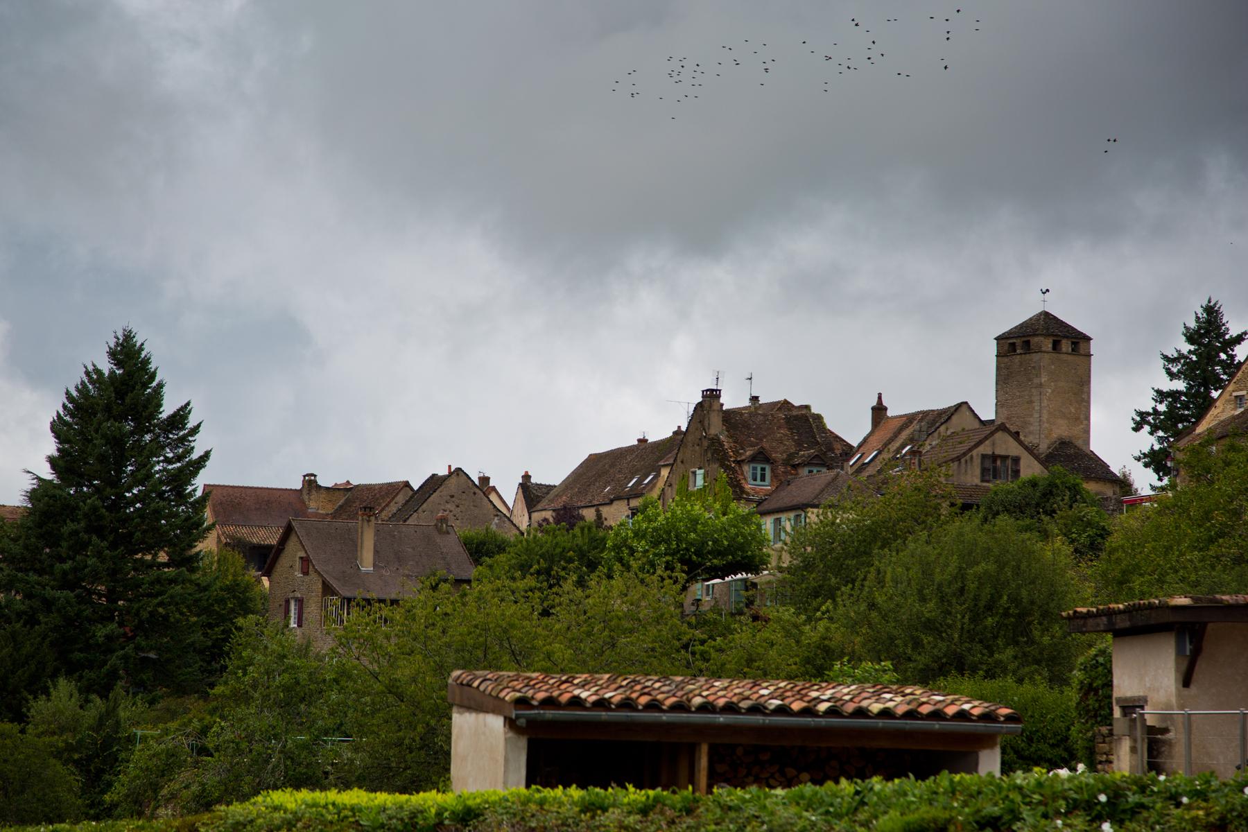 Ortschaft Saint-Clément-sur-Guye