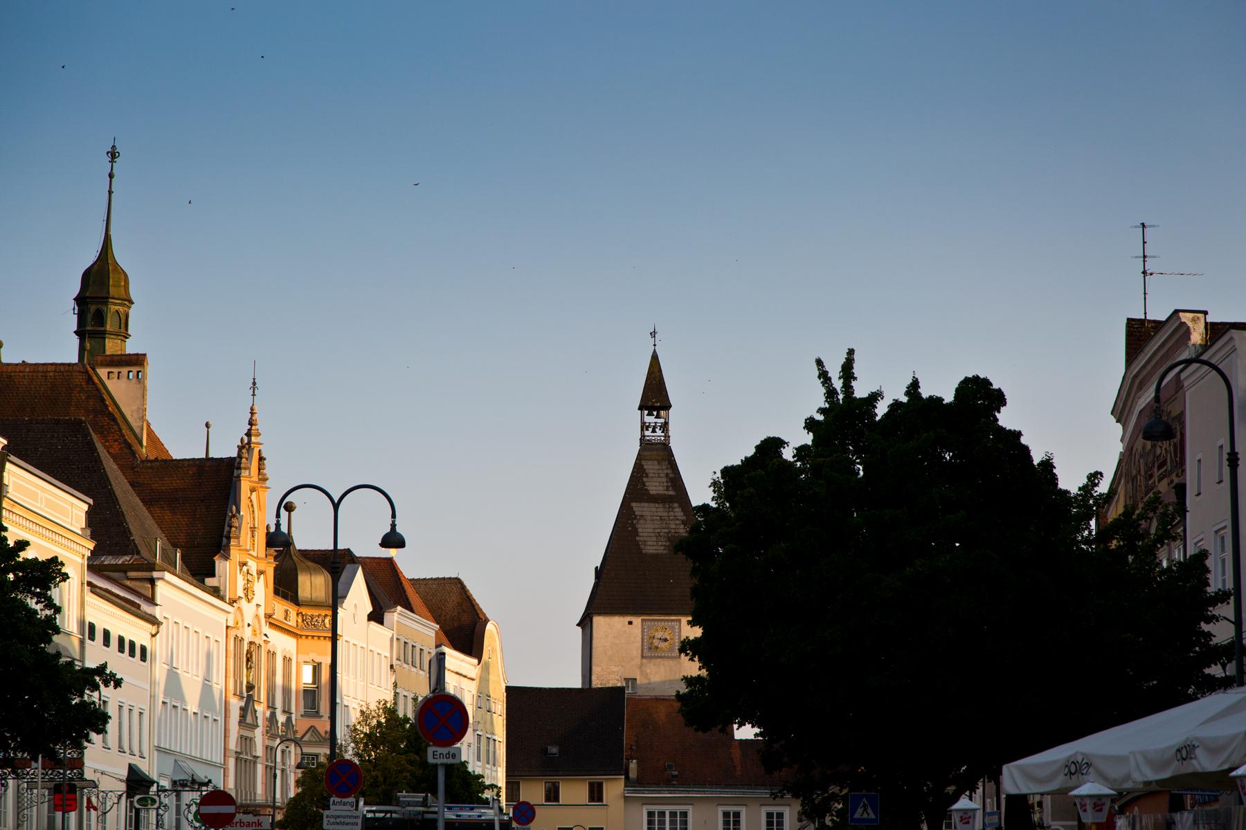Häuserzeile Stadtplatz
