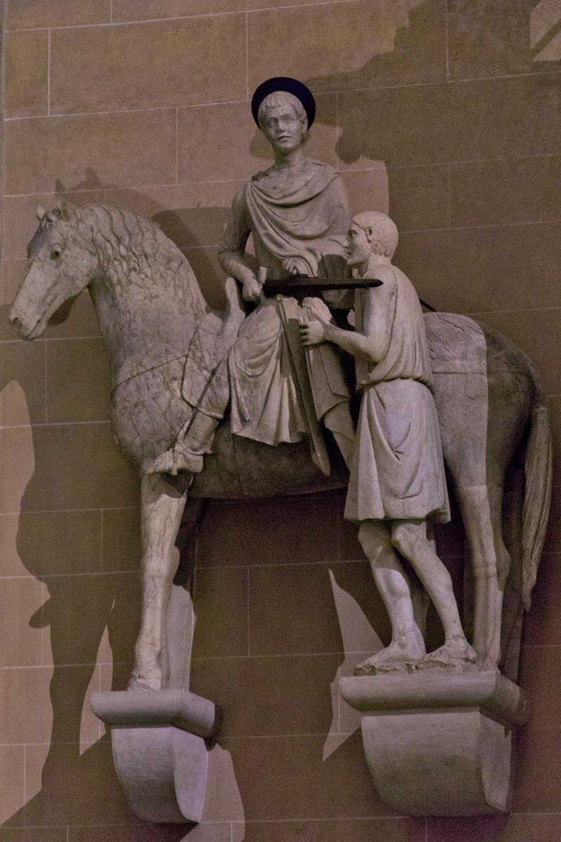 Skulptur Hl. Martin