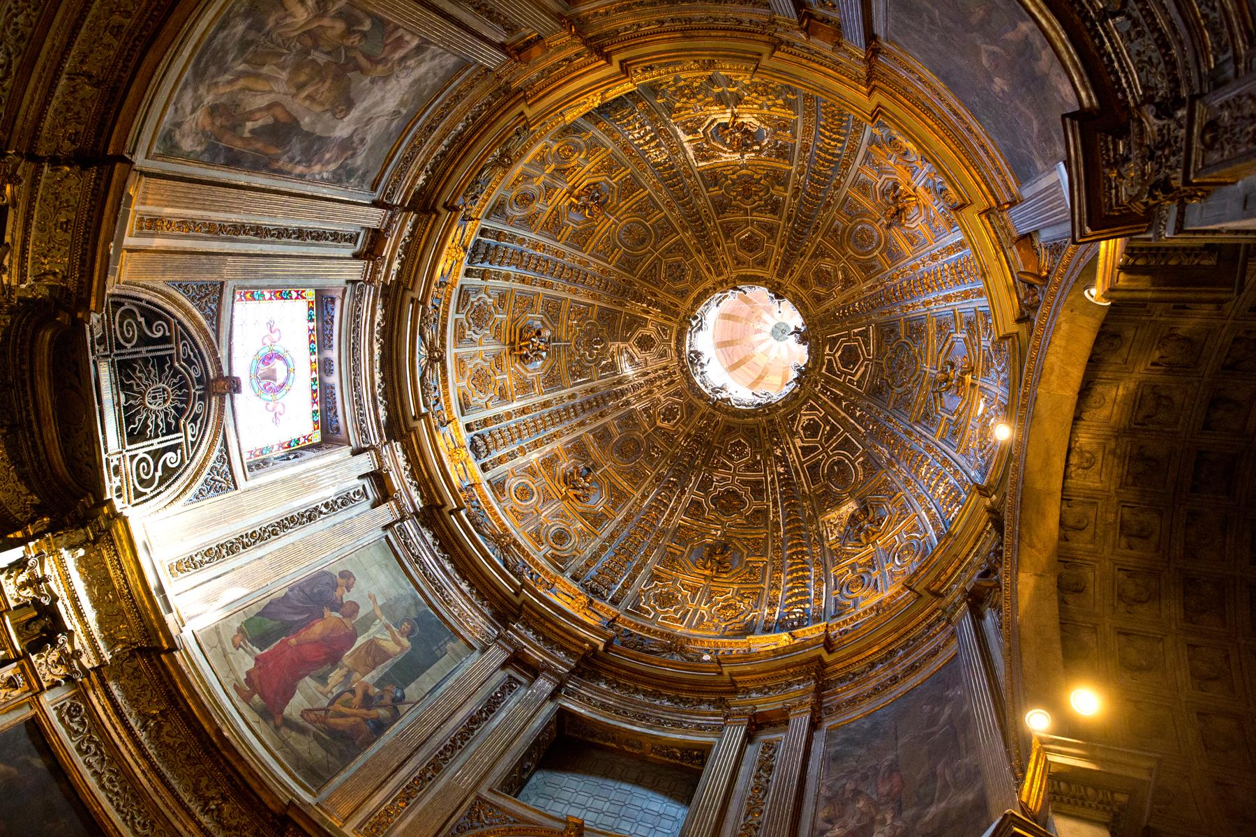 Kuppel Taufkapelle