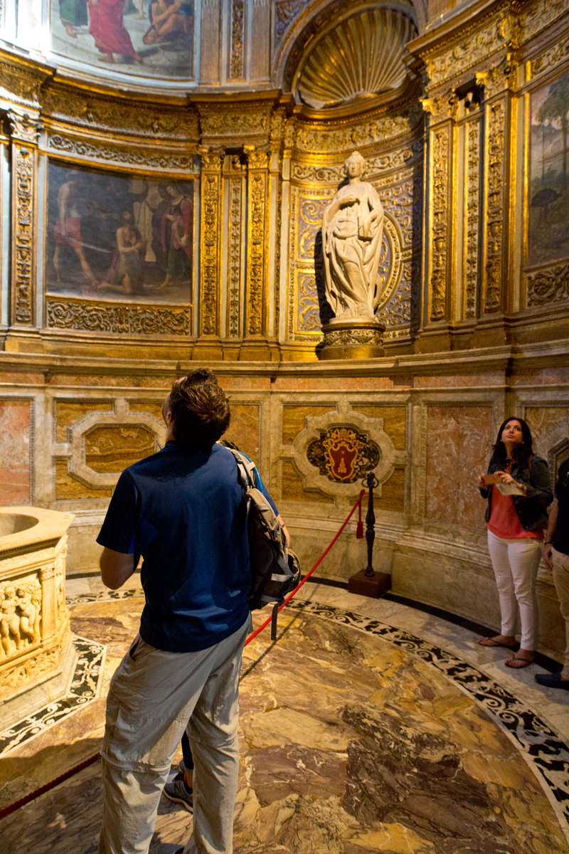 Wandverzierungen Kapelle