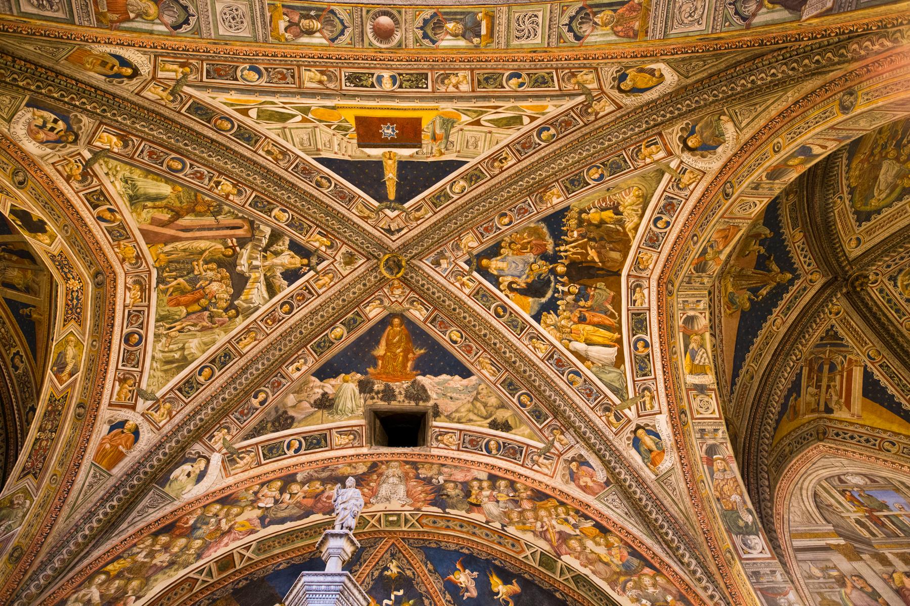 Decke Baptisterium