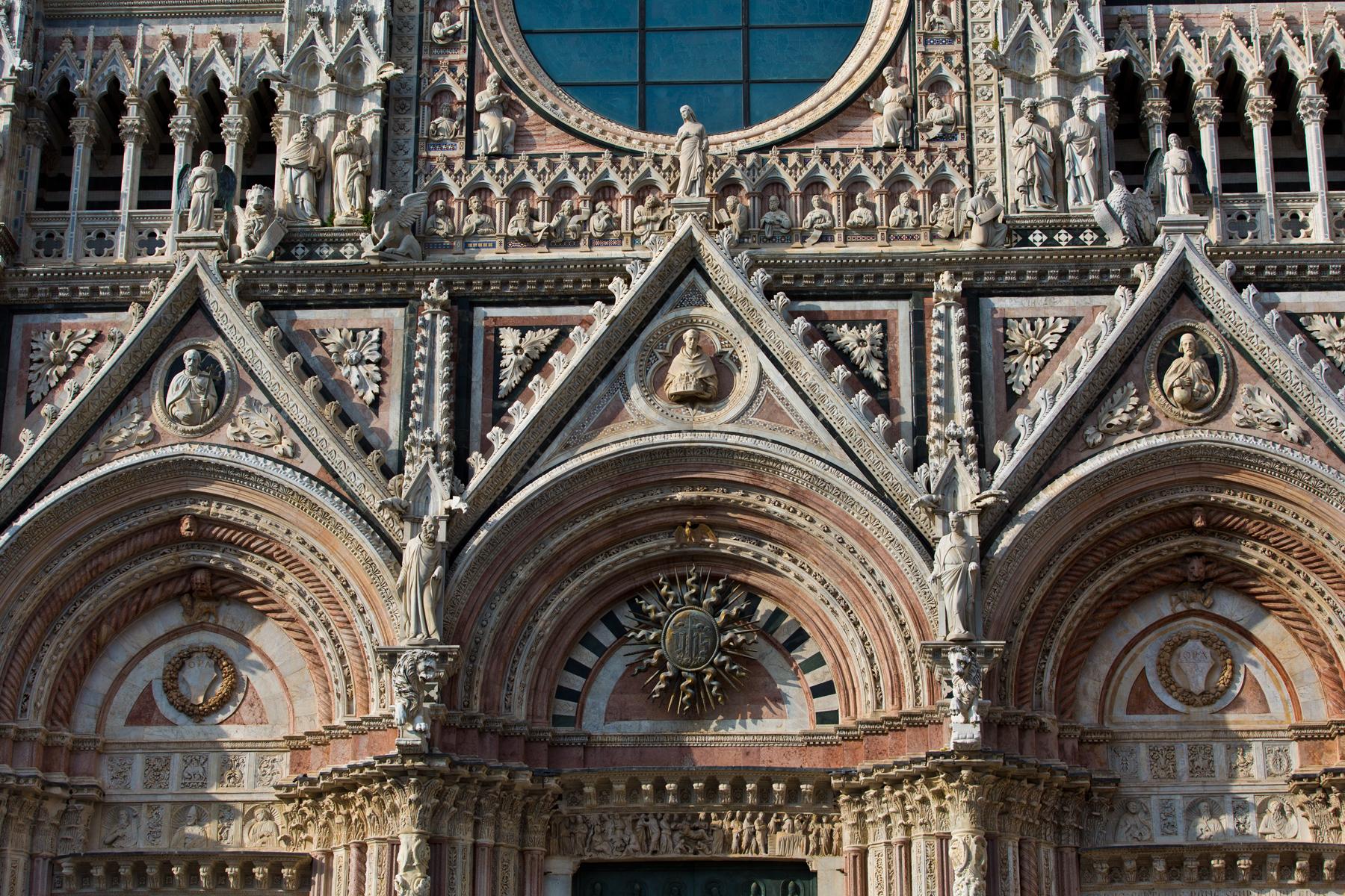 Fassadendetail Dom