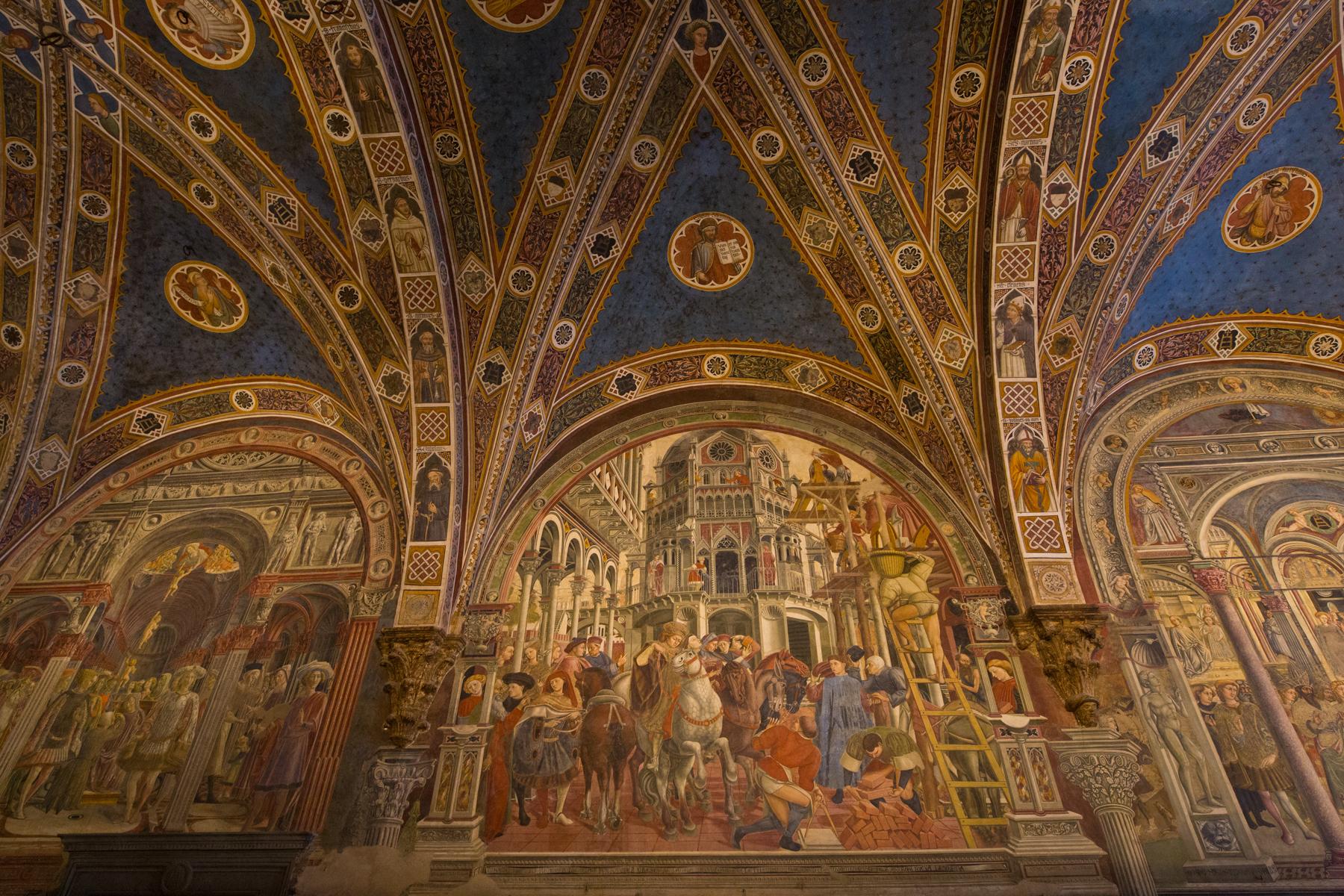 Fresken Santa Maria della Scala