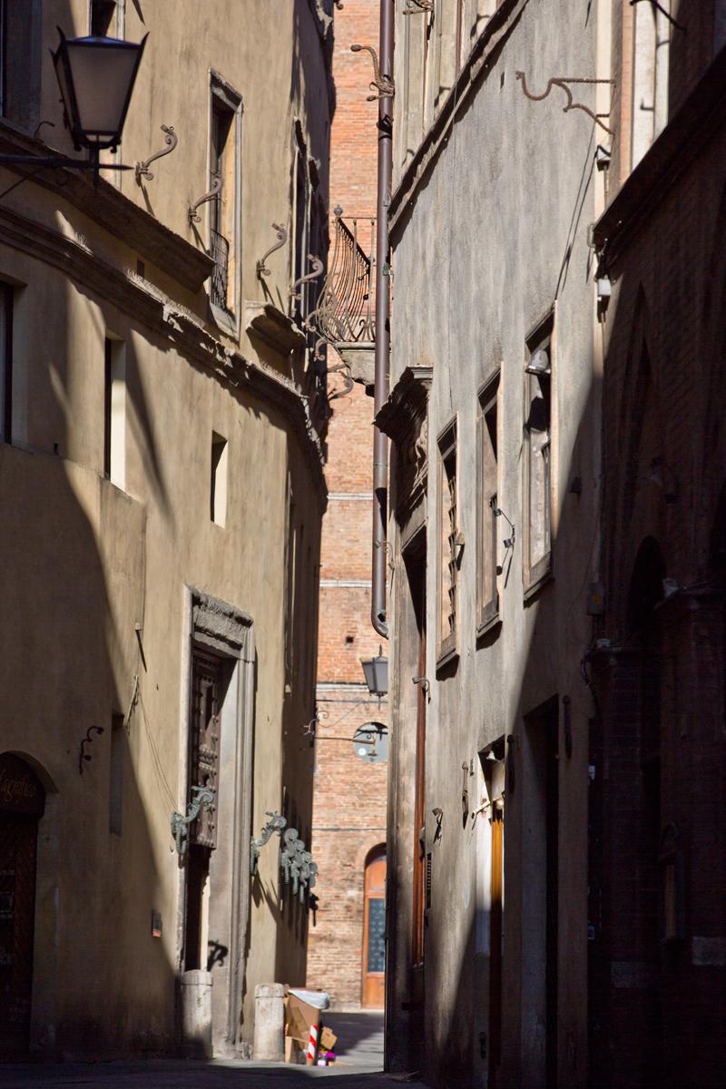 Gasse Siena