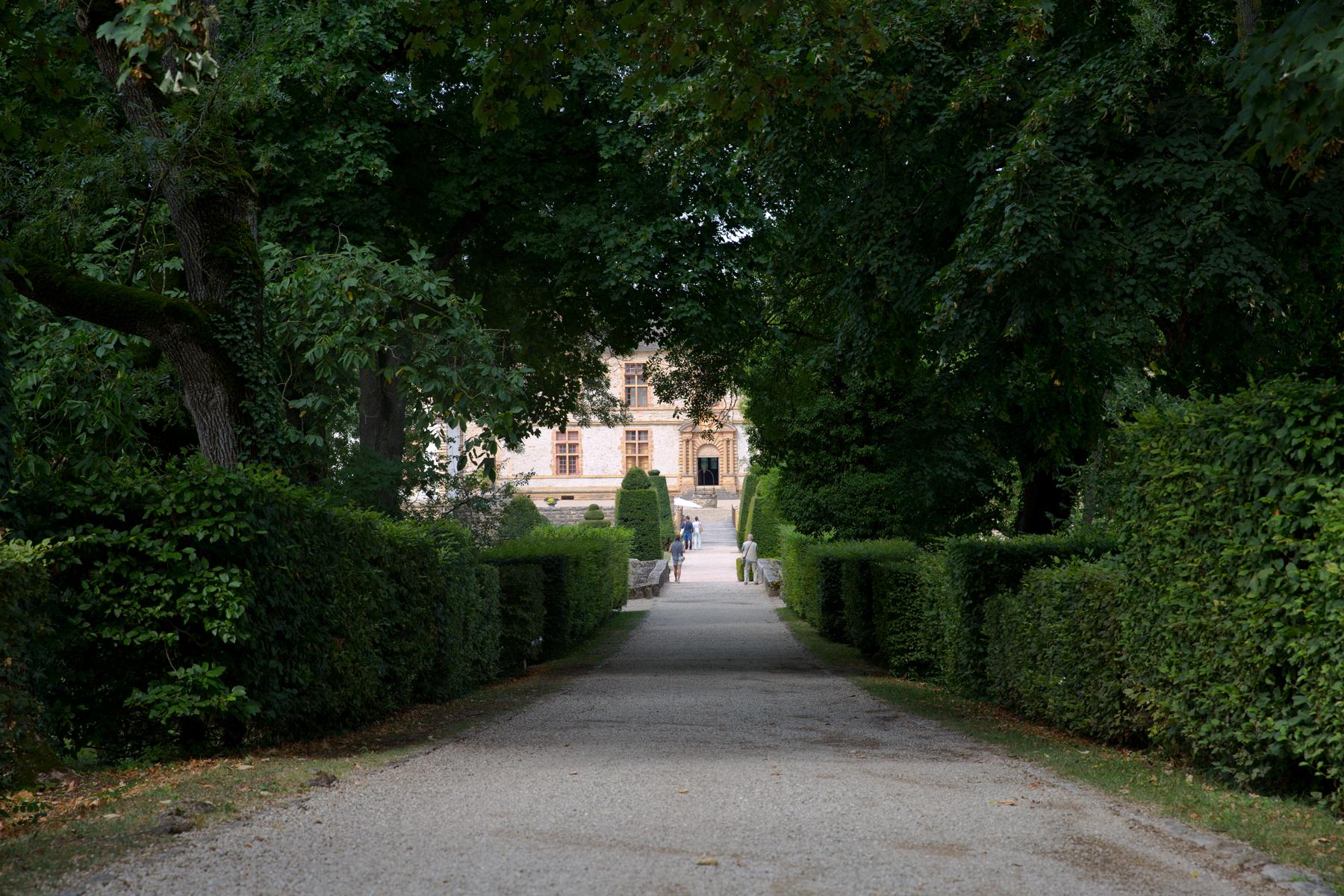 Zufahrt Schloss