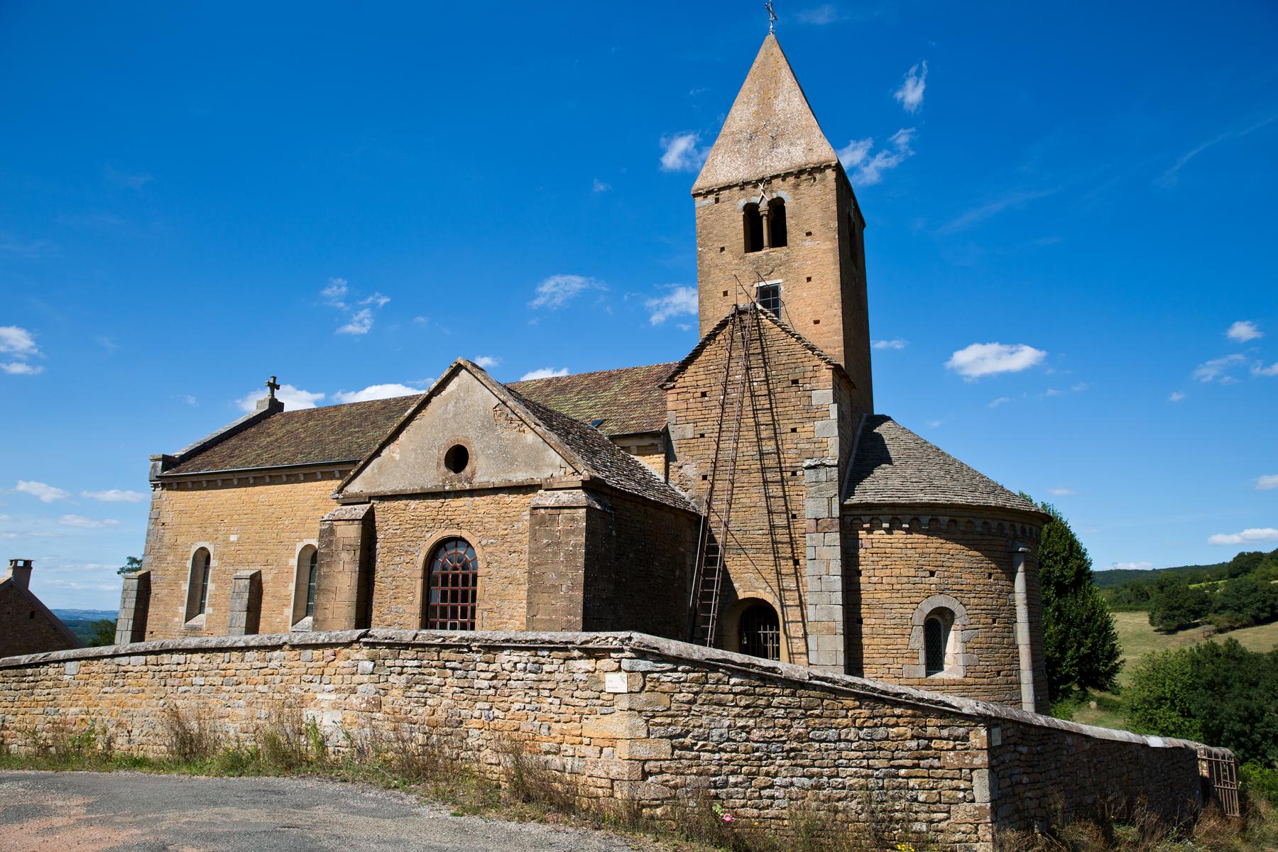 Kirche von La Chapelle-sous-Brancion