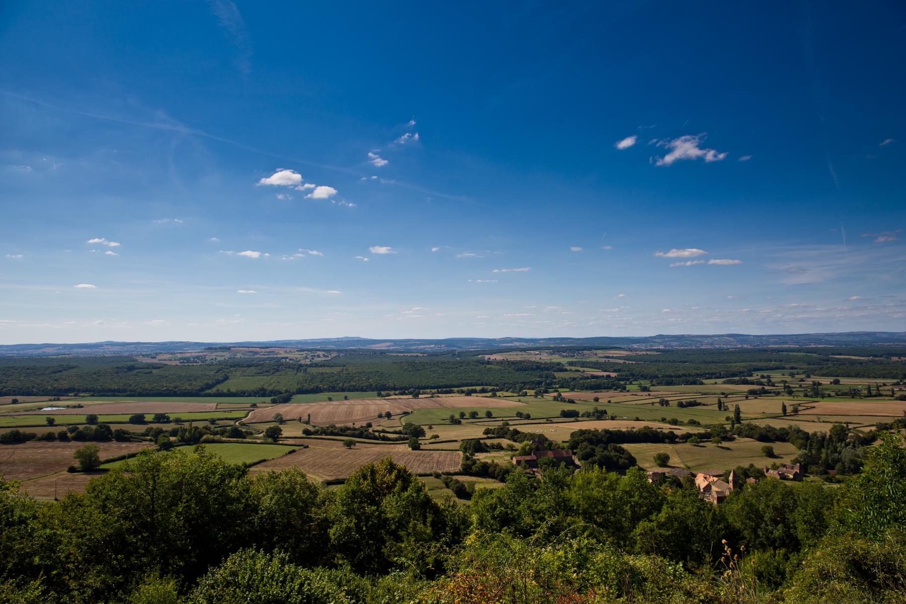Ausblick von Brancion