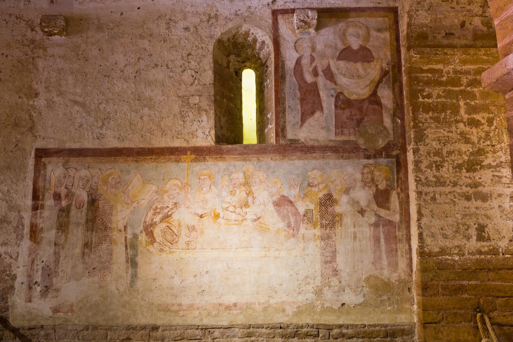 Fresko Kirche Sankt Peter