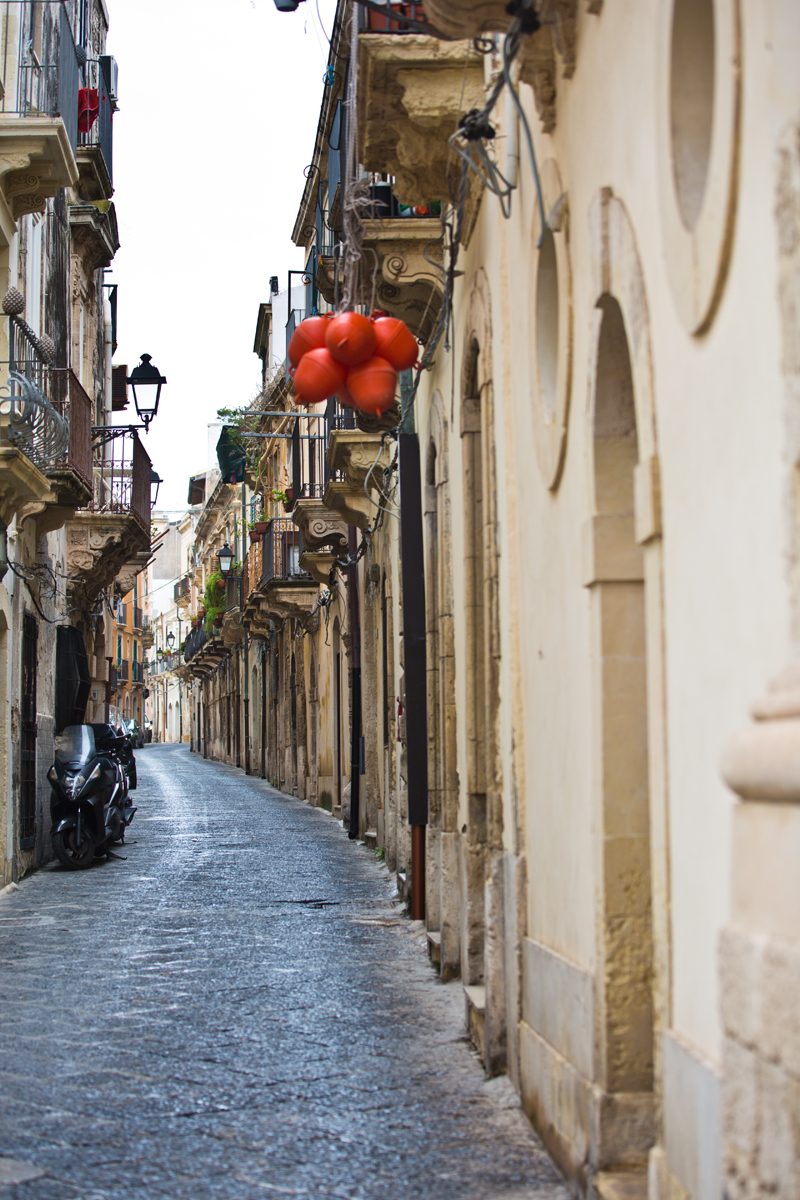 Gasse in Ortygia