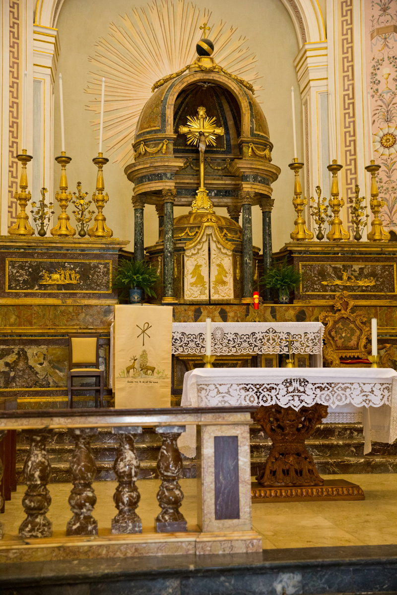Hochaltar Basilca Santissimo Salvatore
