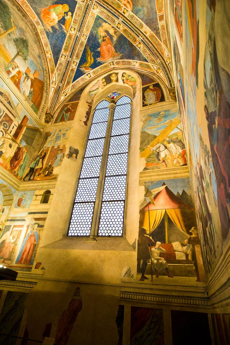 Ausschnitt Fresken San Francesco