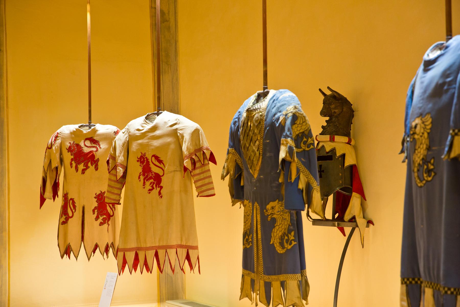 Historische Kostüme des  Giostra del Saracino