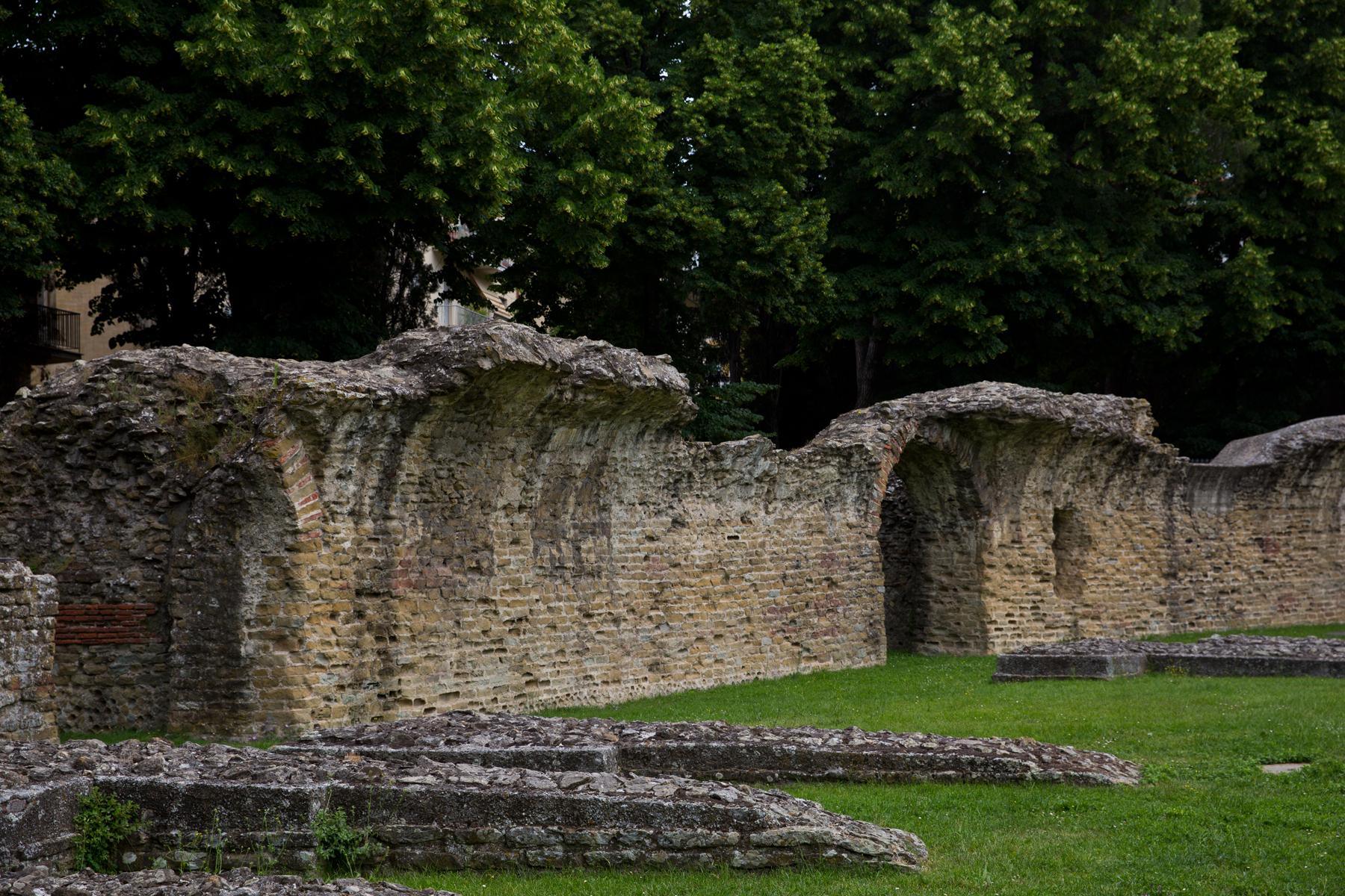 Reste Amphitheater