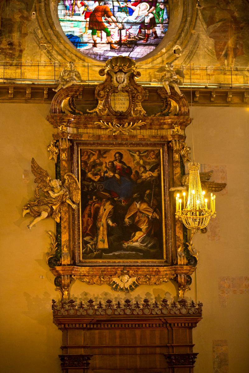 Perugia-Umbrien-Italien-Stadt-Dom-San Lorenzo- hl. Laurentius