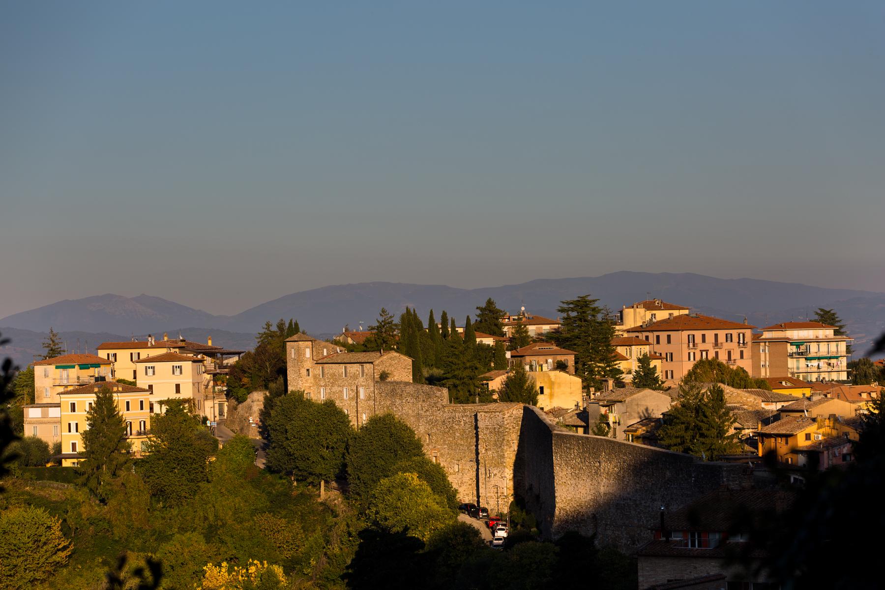 Perugia im Abendlicht