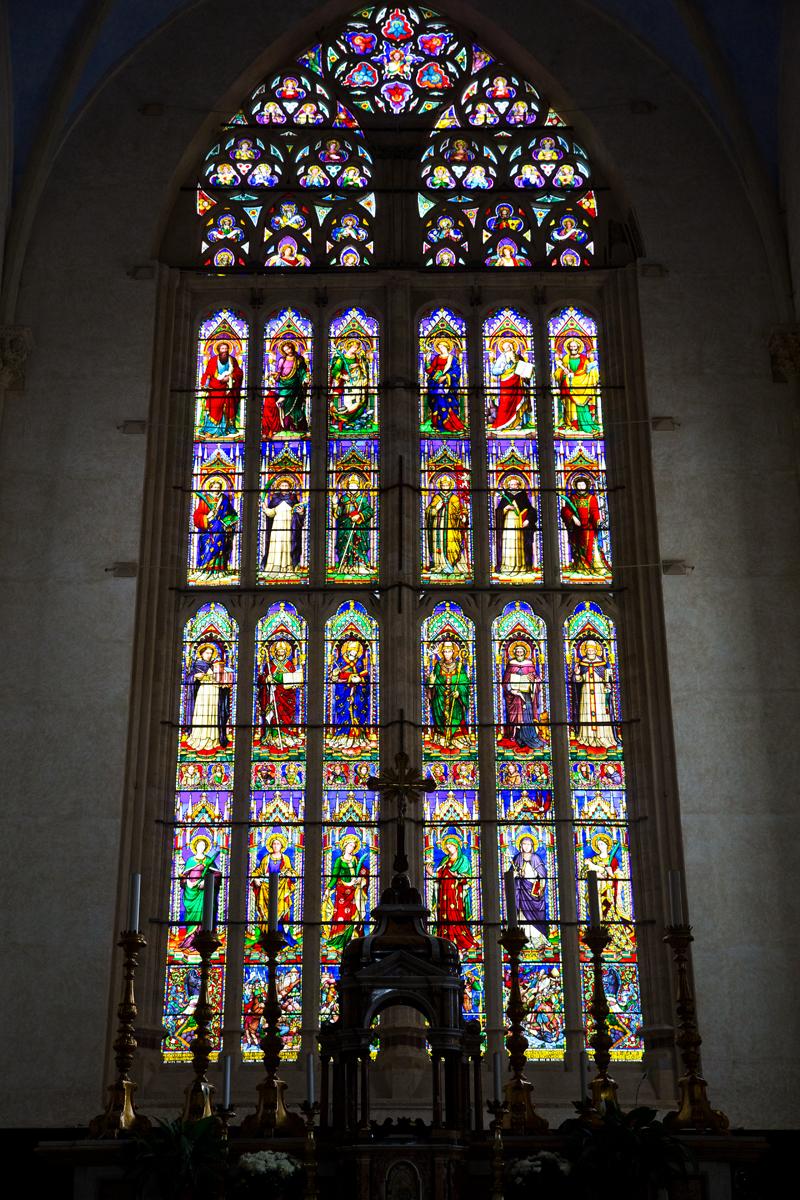 gotisches Kirchenfenster