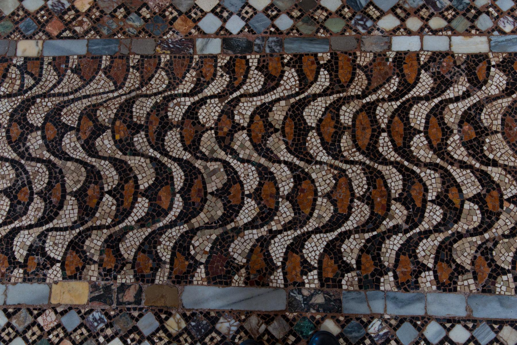 Mosaik Fussboden Muster