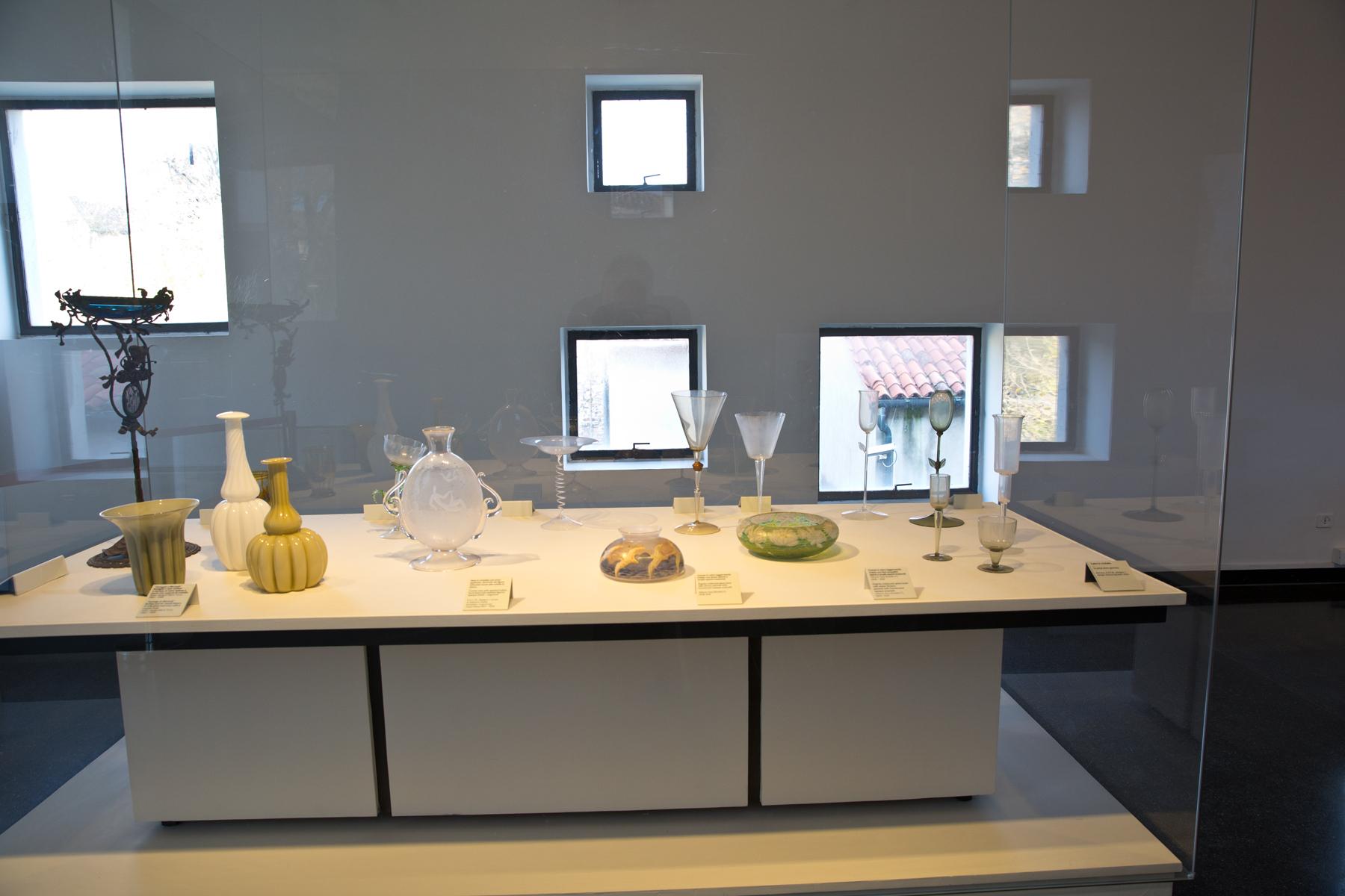 Historische Glasarbeiten